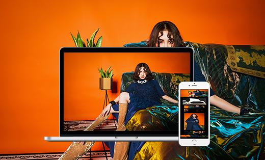 自由鲸服饰 企业网站建设 网站开发 网站设计