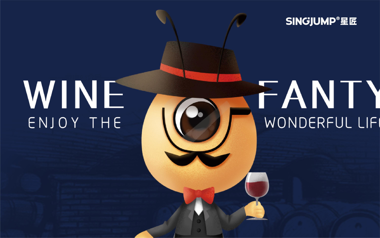 餐饮 娱乐食品立体2D吉祥物Q版企业卡通形象2.5D形象