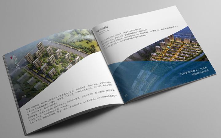 企业画册logo标志设计产品册设计菜谱菜单广告封面画册设计