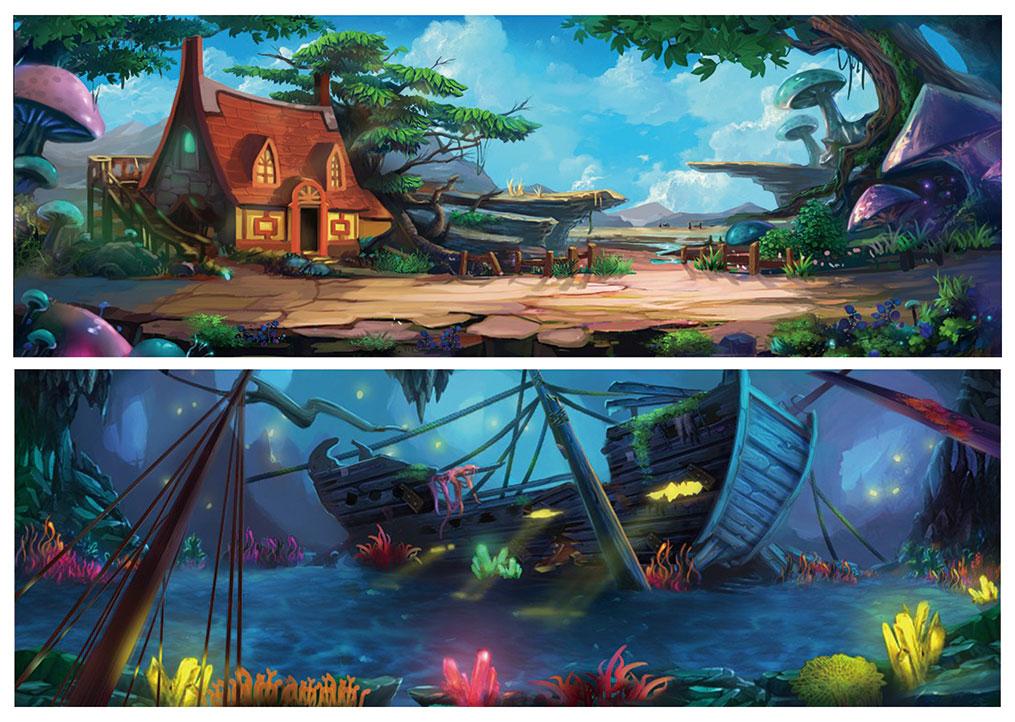角色场景原画游戏动漫Q版表情包影视品牌设计漫画文创