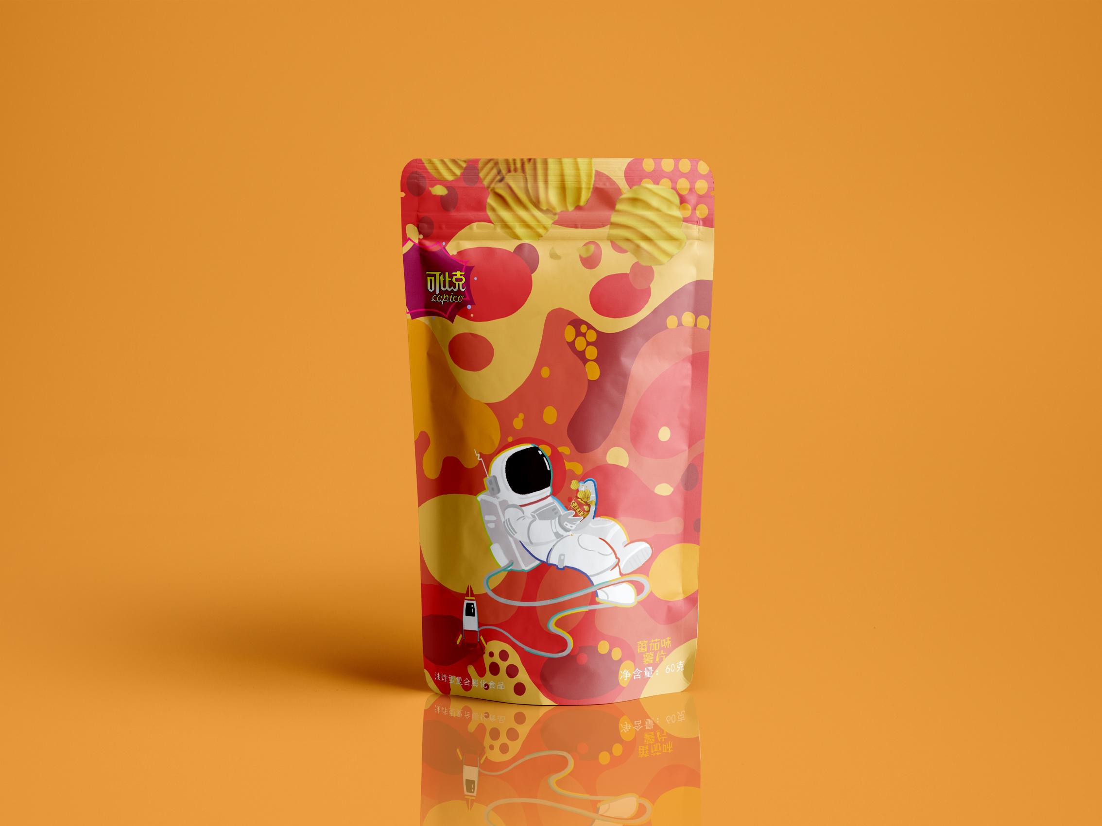 国潮国风插画白酒红酒啤酒饮料矿泉水瓶瓶贴标签盒礼手绘包装设计