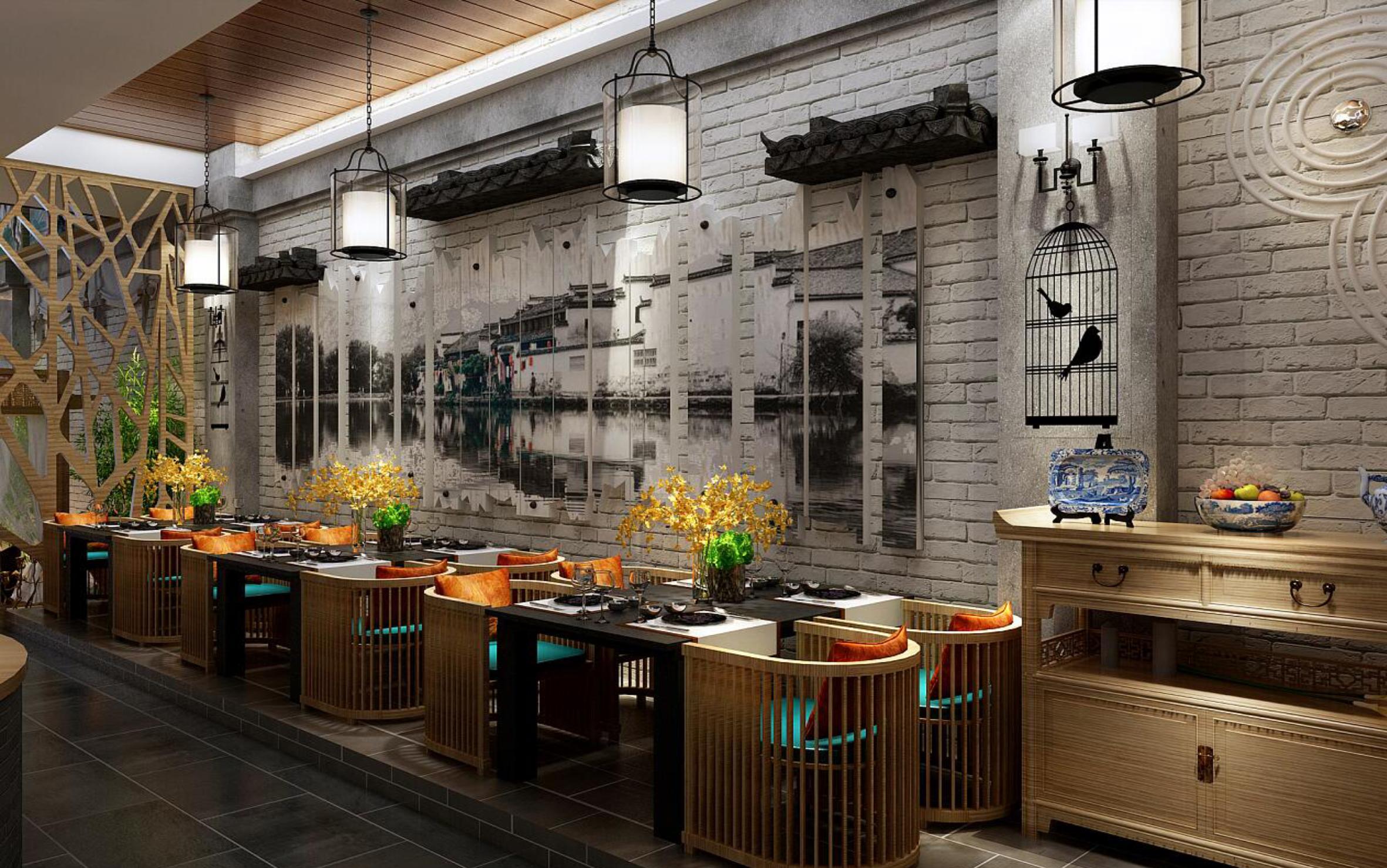连锁店展厅专卖店办公空间餐饮店家装公装酒店si设计装修展厅