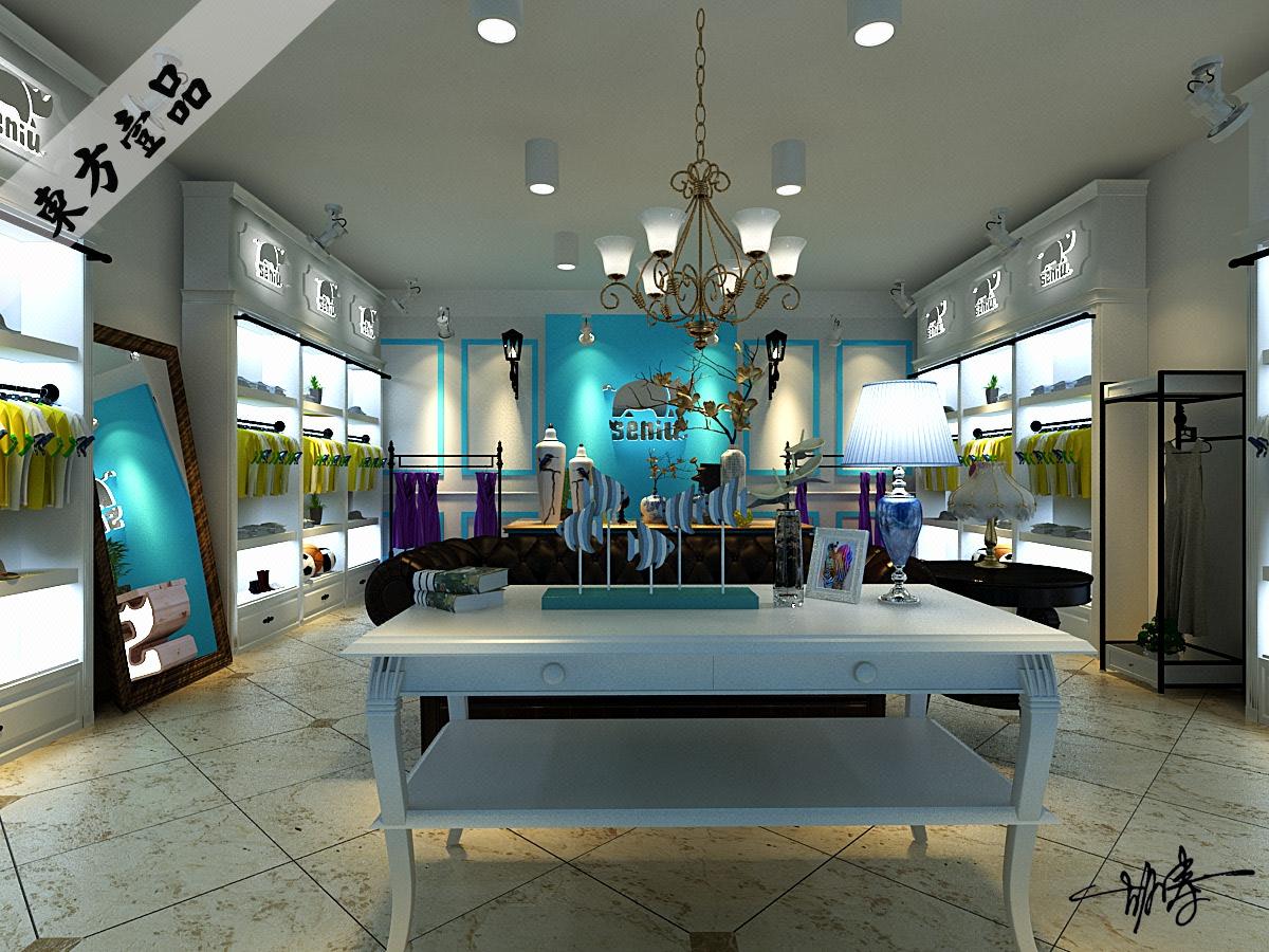 服装店装修设计专卖店婚纱店装修设计店铺门面头设计商场装修设计
