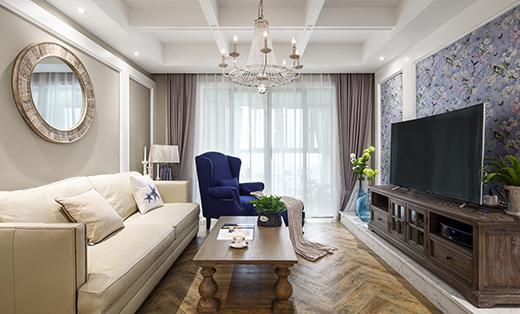 法式风格四居室139平米