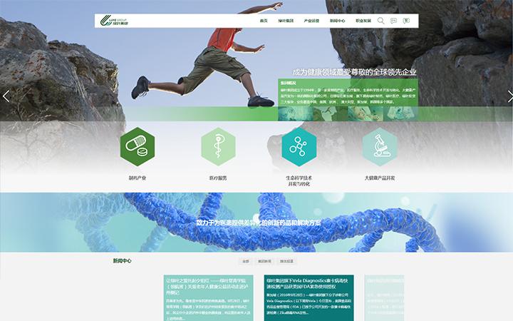 医疗企业网站建设设计/网站制作/网站开发