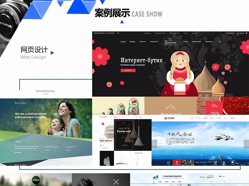 网站二次开发网站改版网站美化更新优化