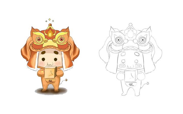 原创手绘插画/产品包装插画/微信公众号多格漫画设计