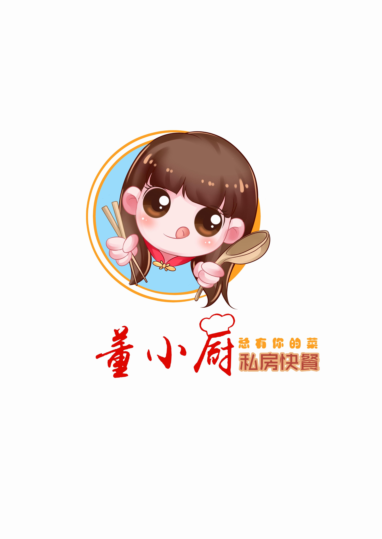 【餐饮行业】三形卡通形象设计/吉祥物/卡通LOGO/餐饮