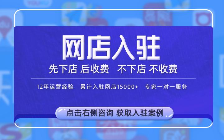 网店京东天猫旗舰店代入驻代办开店铺下店品牌运营计划方案PPT