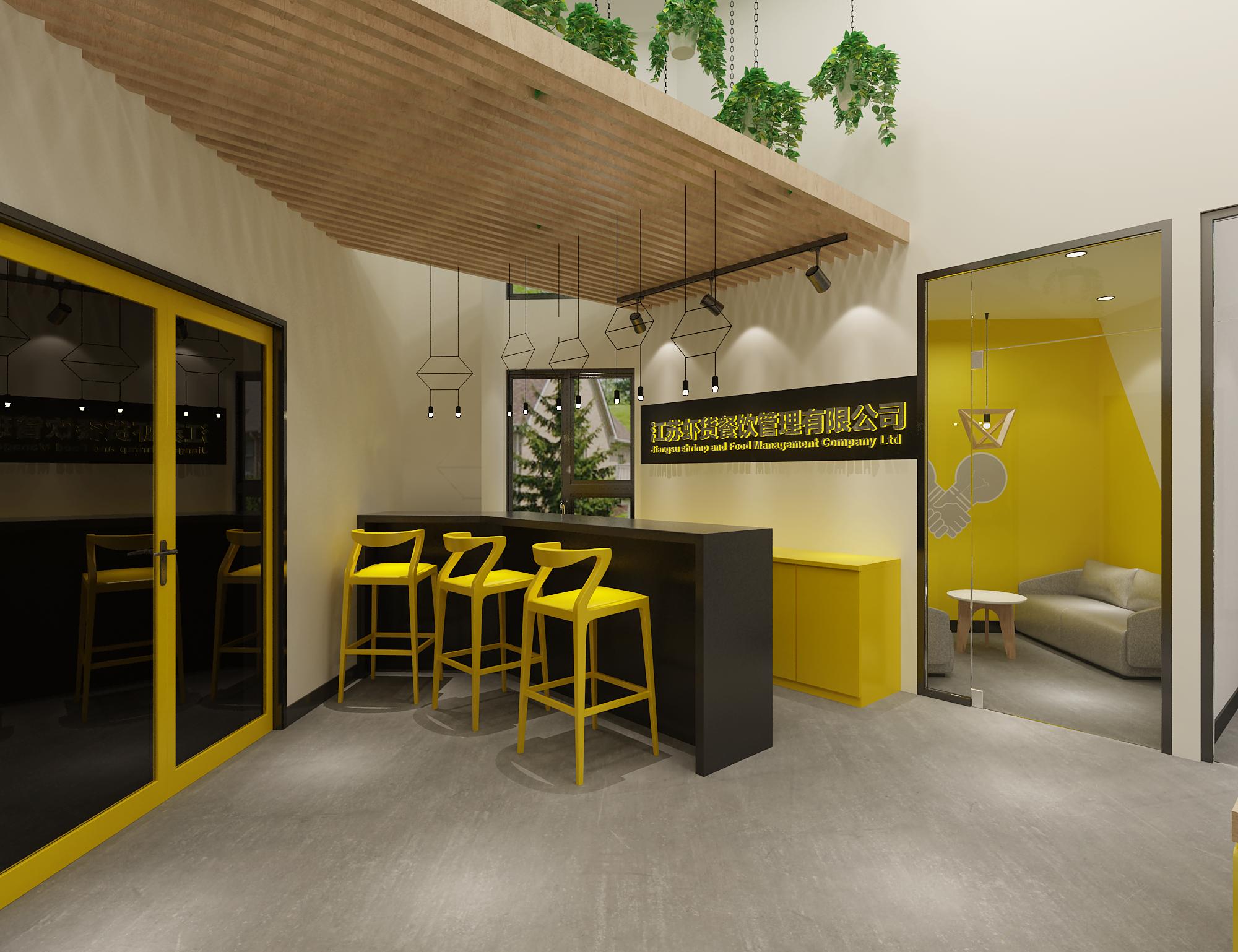 办公室工作室装修设计 展厅设计 室内设计 效果图 店铺装修