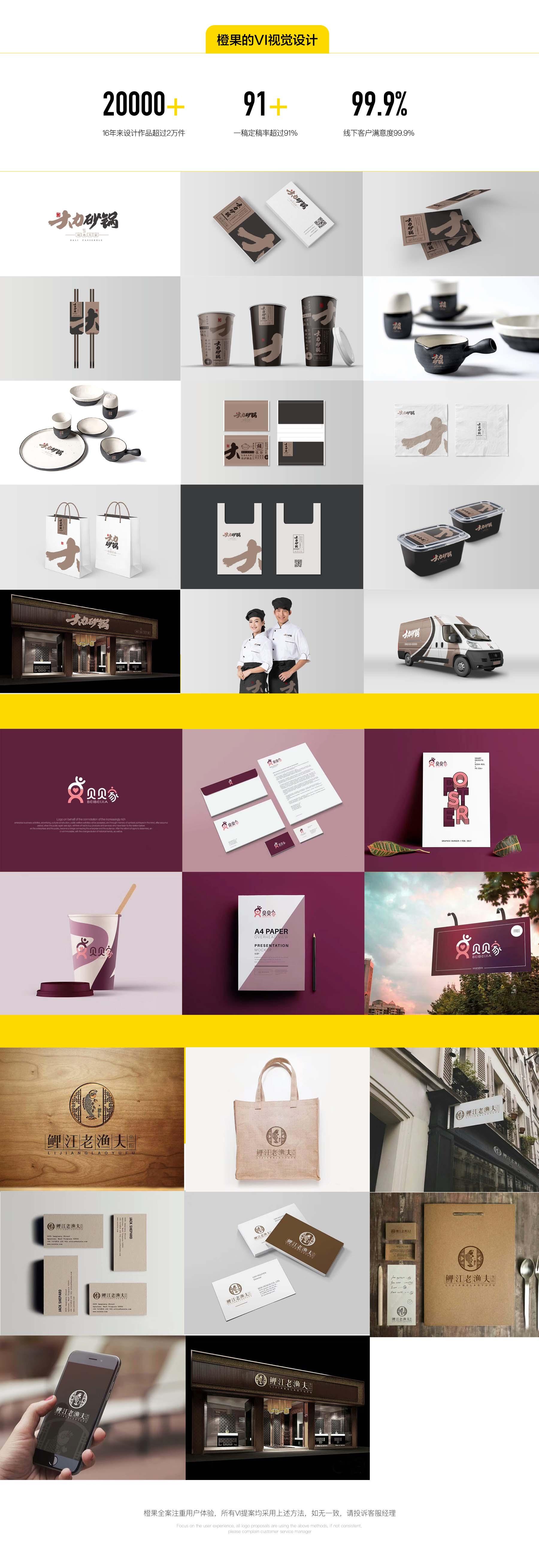 VI系统设计_橙果全案VIS企业导视系统娱乐酒店餐饮旅游医疗品牌VI设计4