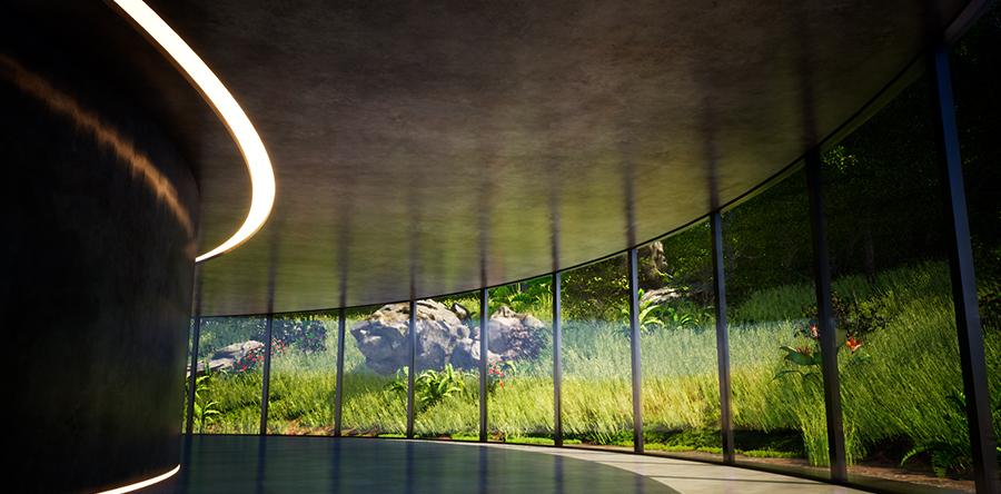 _景观设计效果图鸟瞰图彩平图动画vr设计图设计7