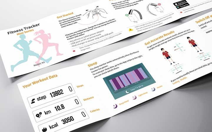 8说明书设计杂志推广销售使用品牌新店活动促销产品宣传画册手册