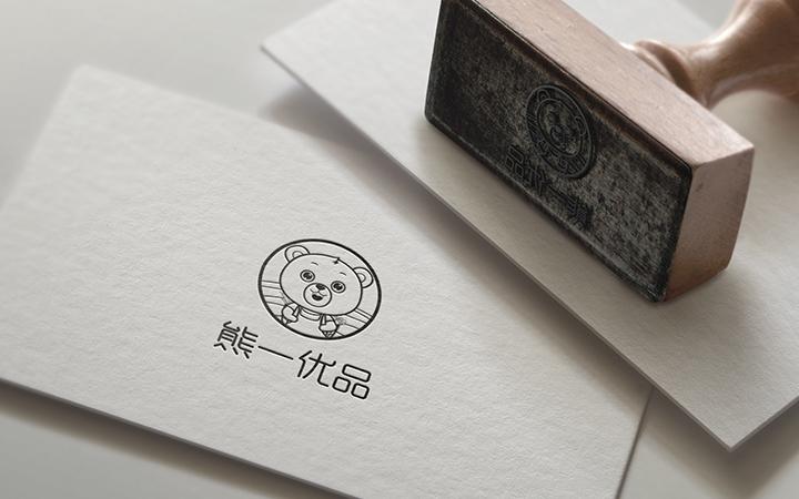标志设计LOGO商标英文卡通logo字体设计餐饮科技公司动态