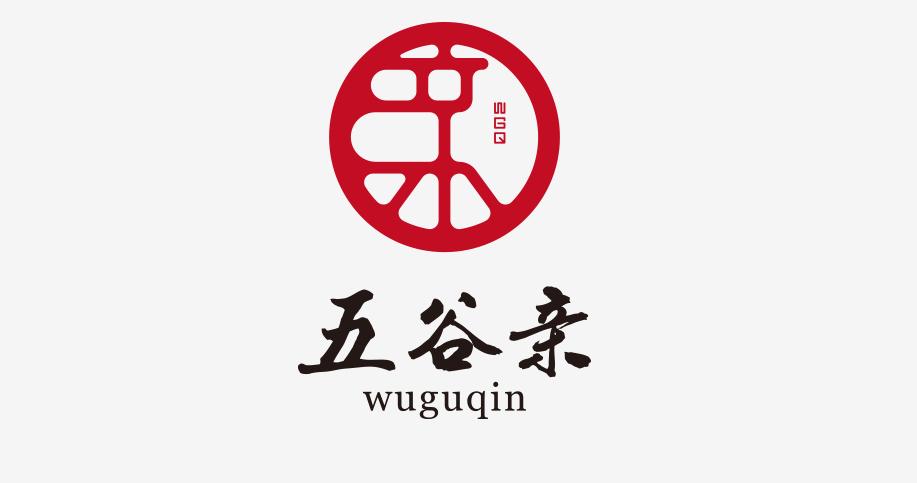 五谷亲logo设计