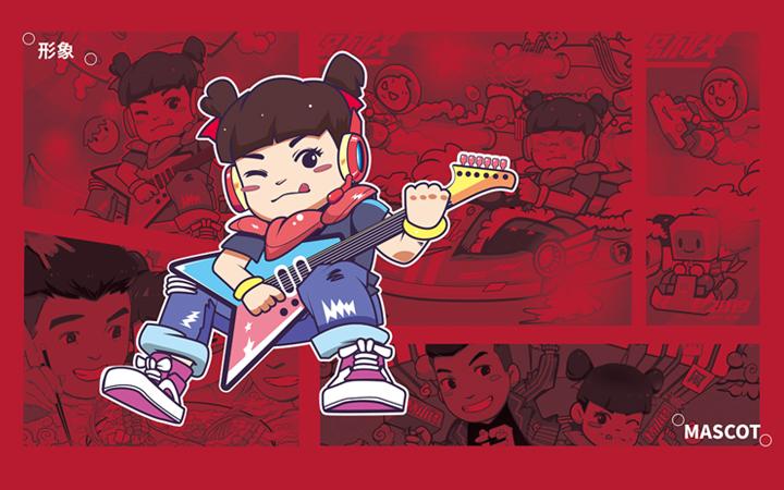 卡通形象插画手绘设计原创形象人物插画吉祥物人物形象手绘插画