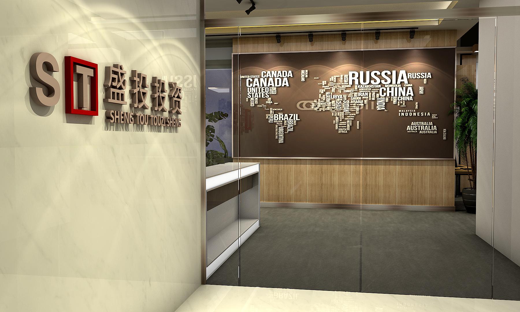 办公室设计/室内设计装修设计效果图制作工装效果图设计空间设计