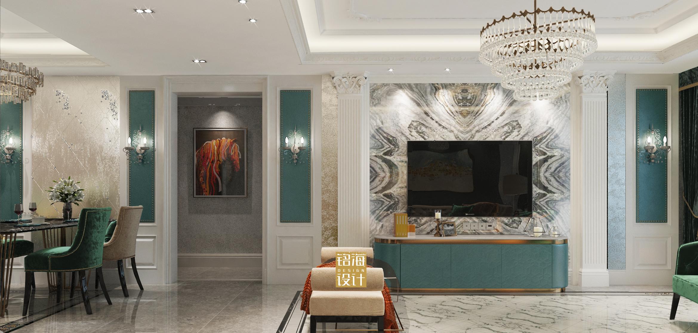 室内设计新房装修美式法式空间设计