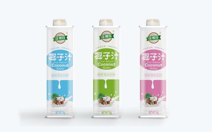 饮品包装罐装瓶装标贴设计外包装盒礼盒设计