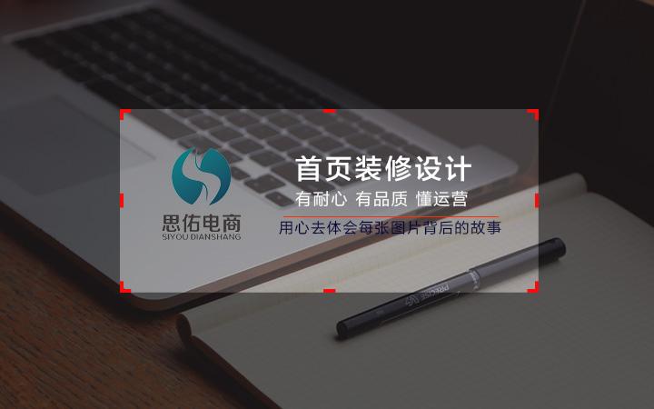 淘宝天猫京东店铺首页装修设计 7年专业美工服务满意为止