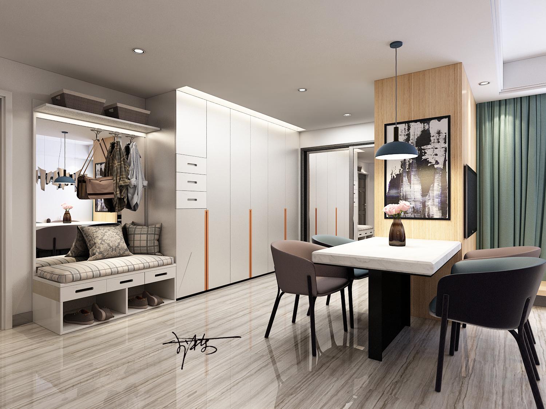 【李栋】室内设计家装效果图自建房设计装修别墅新房家装设计