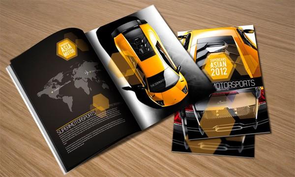 【宣传页设计】公司宣传页设计/传单菜单设计/易拉宝画册设计