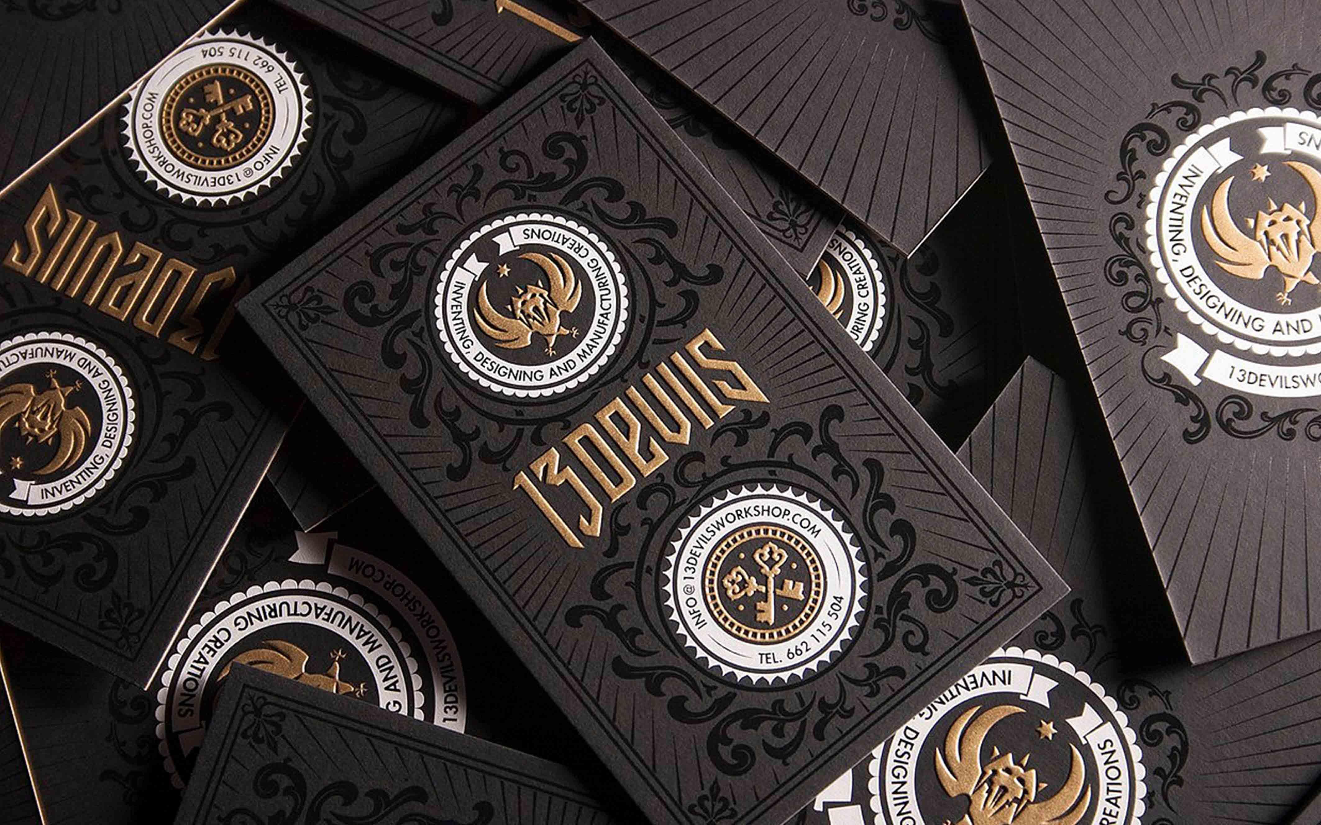 高端商务名片设计定制个人公司企业工作牌贺卡会员卡购物卡片设计