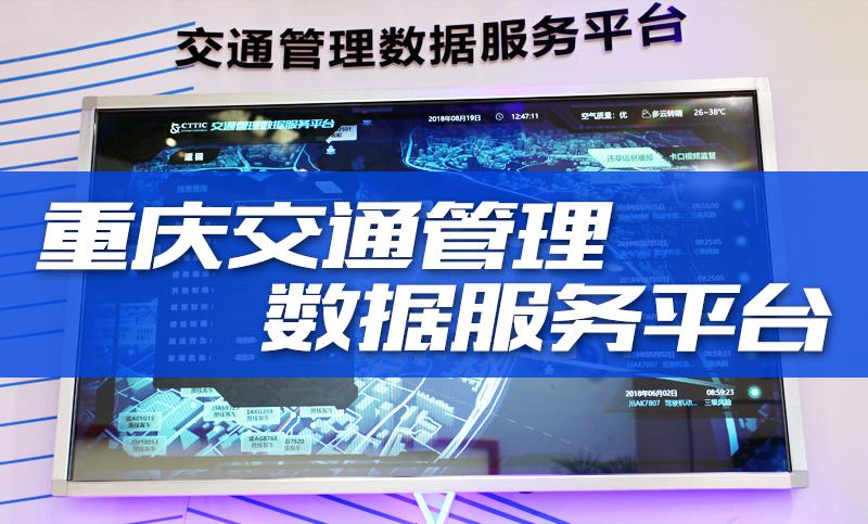重庆交通管理数据服务平台