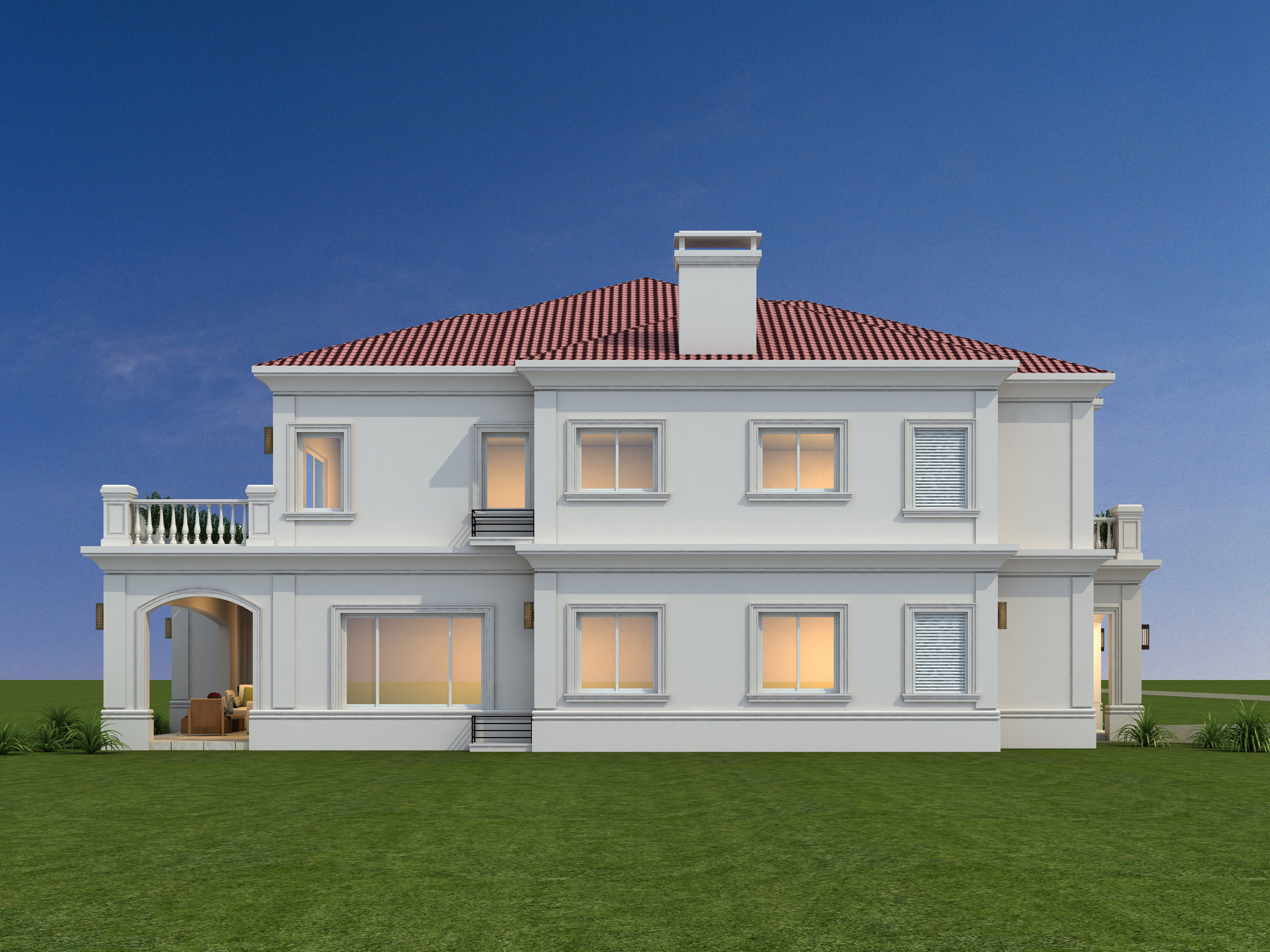 高端建筑设计别墅设计自建设计民房设计民宿设计全套施工图