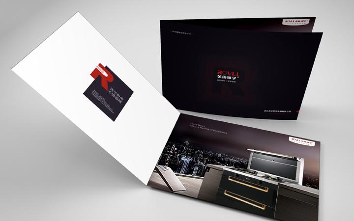 画册设计产品手册三折页宣传册设计单页台历菜单宣传品设计