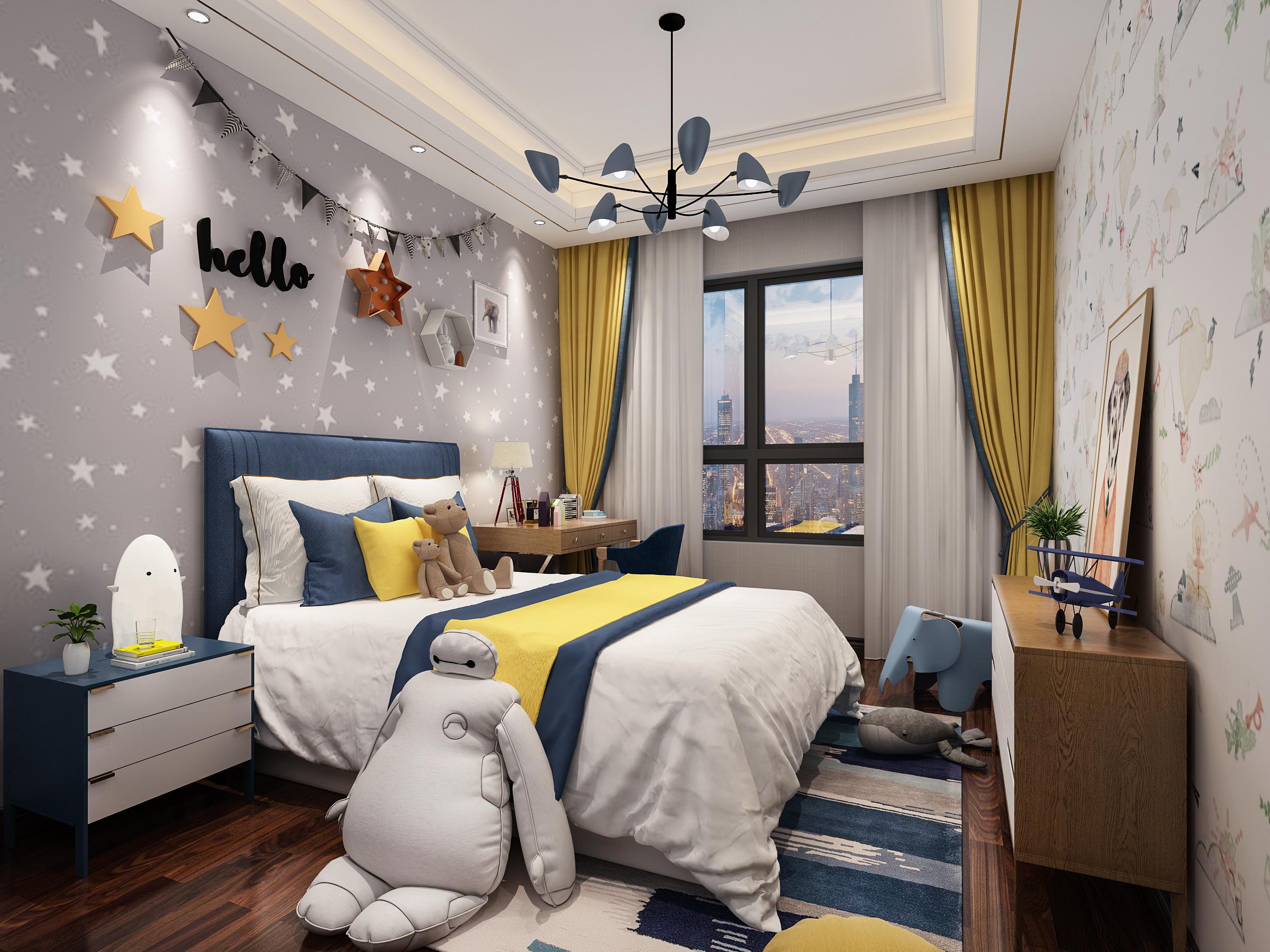 【東舍设计】*美式家装设计室内设计家庭装修美式设计新房装修
