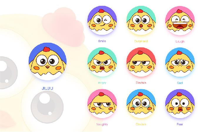 卡通形象 吉祥物 IP形象设计 企业IP卡通人物 表情包设计
