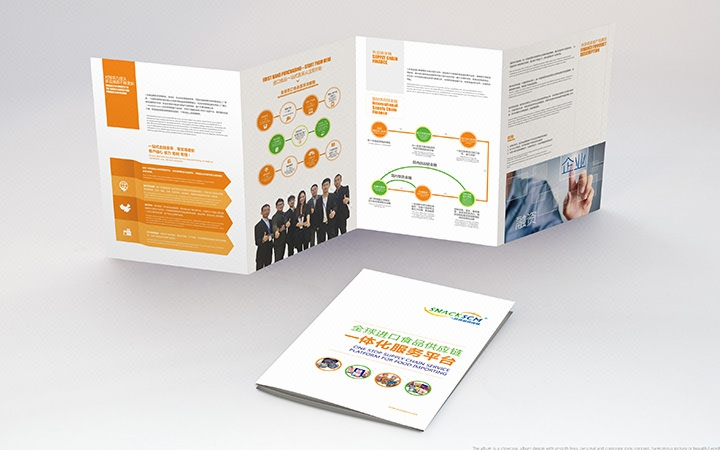 【总监折页设计】教育DM单设计三折页设计四折页宣传页设计