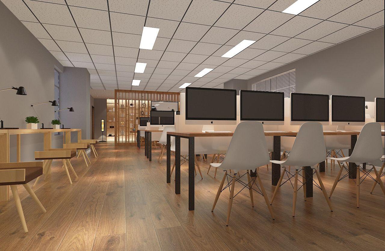 【东舍设计】教育机构设计培训机构设计装修设计室内设计