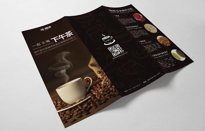 宣传单设计三折页设计折页设计DM单页设计画册设计广告物料设计