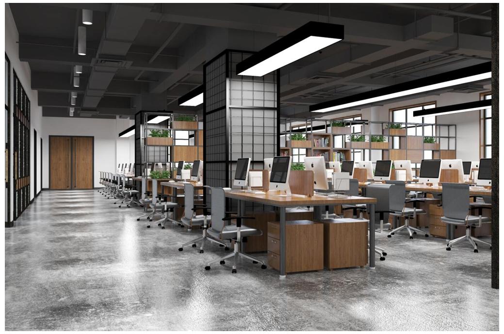 办公室效果图设计店铺装修设计门头设计餐饮店面设计效果图施工图