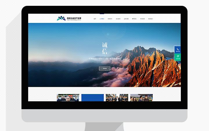 网站UI设计 网站建设 网详情页设计 竞价落地页设计