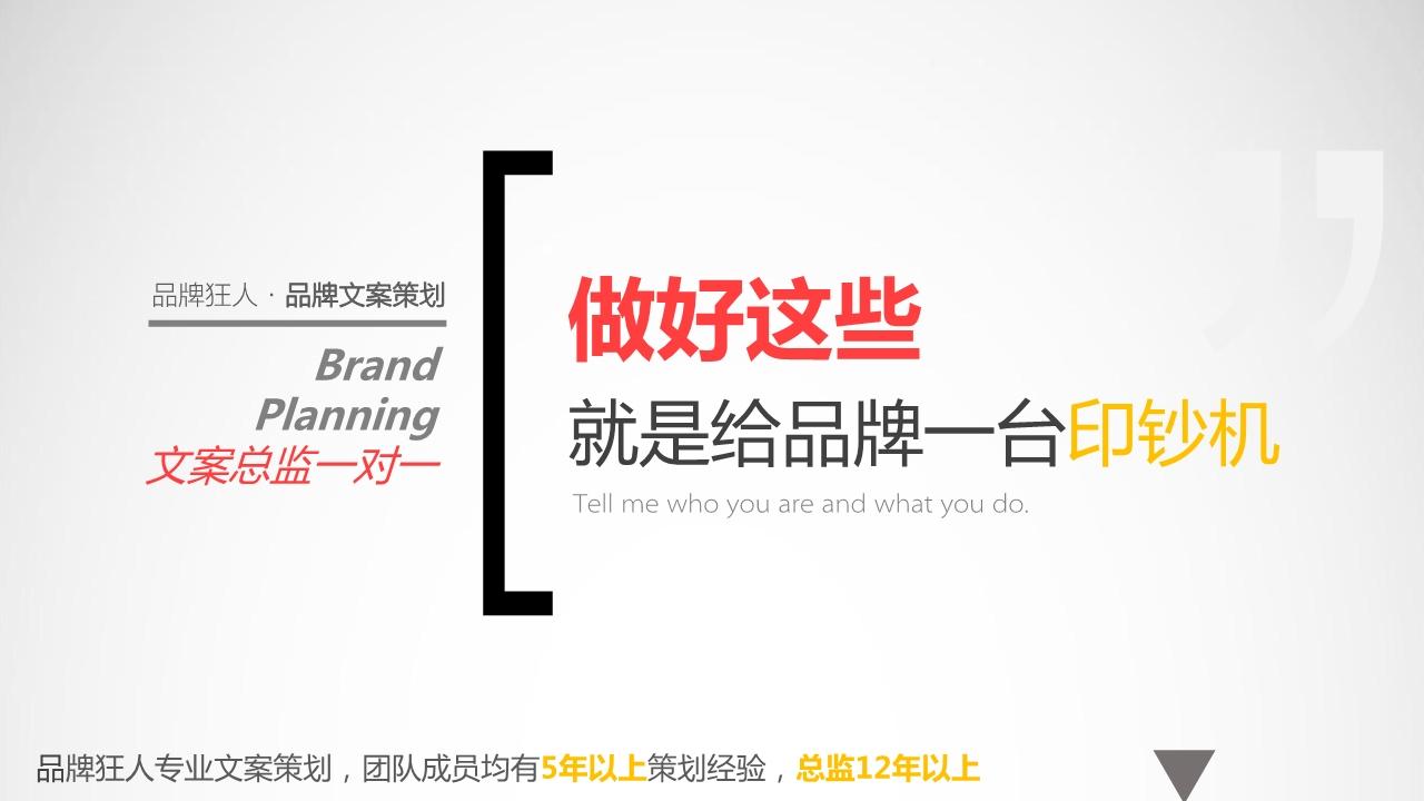 _品牌策划12年资深品牌形象企业策划宣传包装文案策划全案机构6