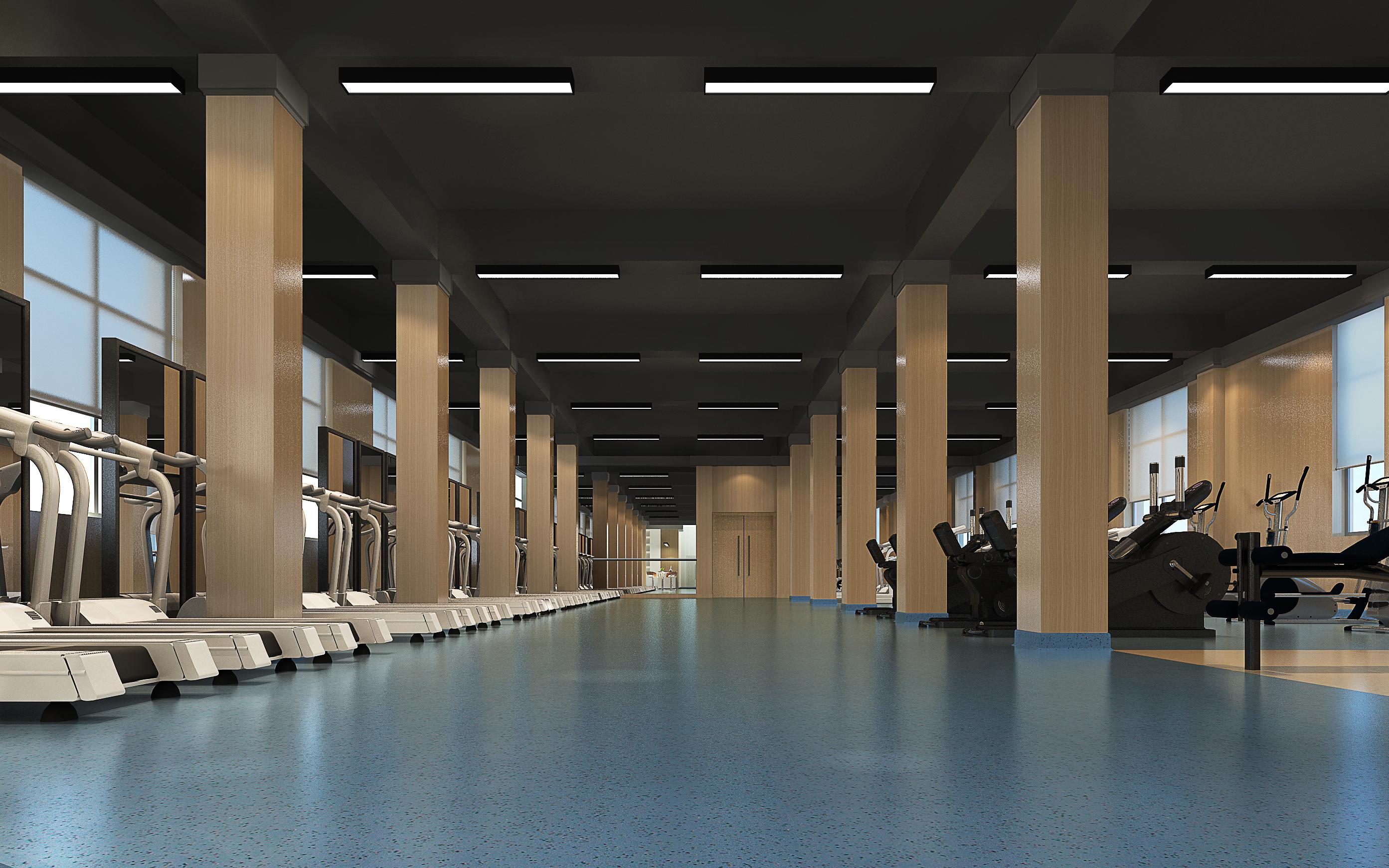 购物餐饮店面办公空间网咖KTV幼儿园会所健身会所效果图设计