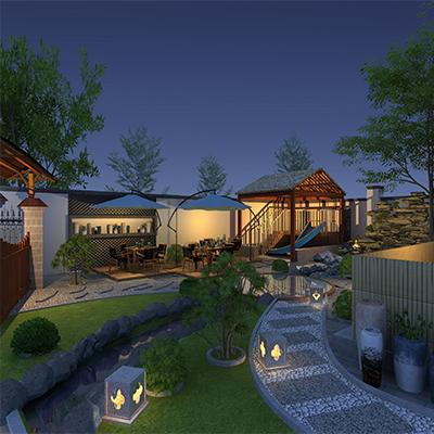庭院景观全套设计