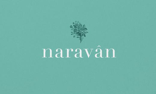 naravan护肤品VI设计