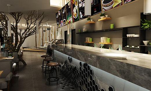 【咖啡厅】雅缇咖啡厅设计案例
