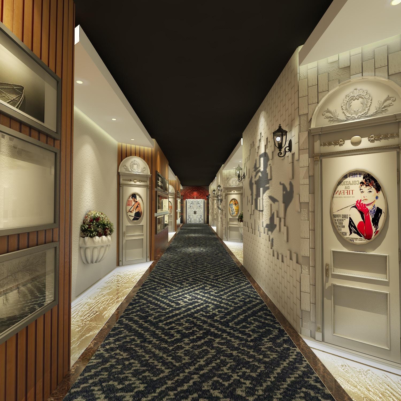 精品酒店设计/主题酒店/特色民宿空间设计室内装修设计效果图