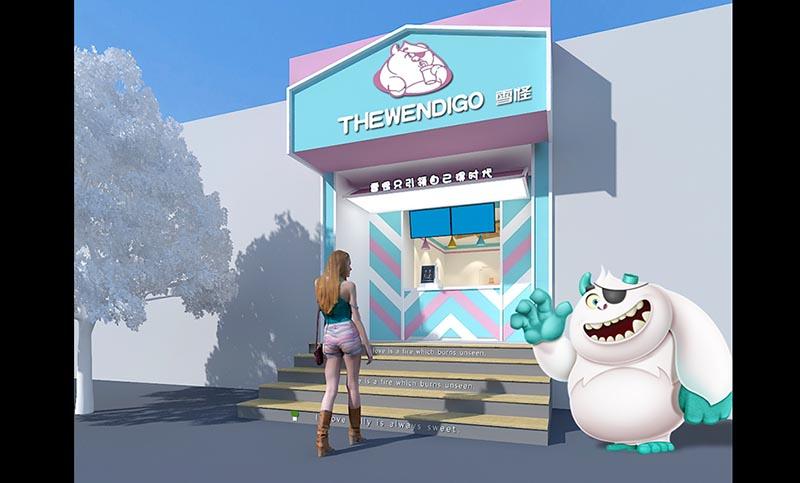 奶茶店连锁店设计