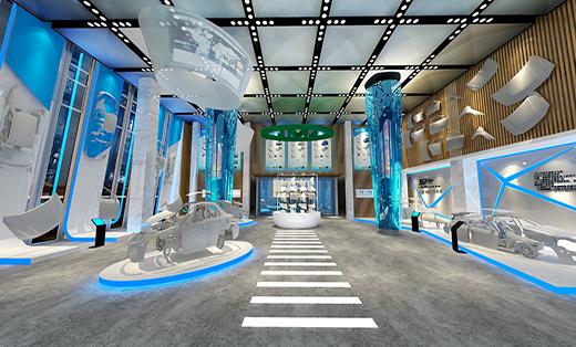 上海九亭汽车城JMJ展厅