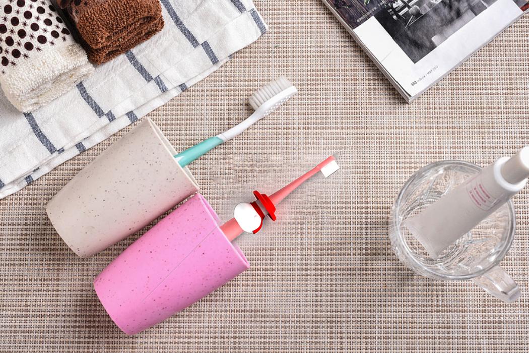【儿童牙刷】工业设计产品外观结构设计3D建模创意效果样品打印