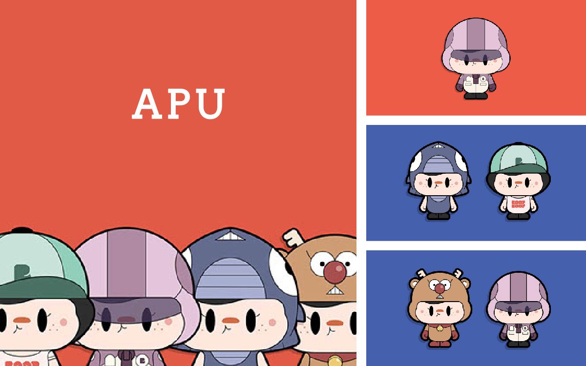 吉祥物卡通形象商业Q版手绘表情包漫画IP公仔可爱动漫形象设计