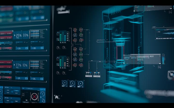 大屏界面UI设计大数据可视化科技大屏前端设计数据报表图表咨询