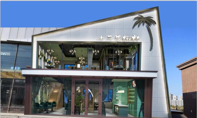 门头设计、招牌、店招餐厅饭店餐饮美容门头、超市便利店门头设计