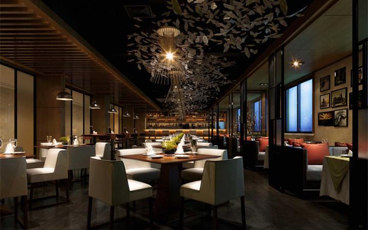 门头设计餐饮店铺商业购物空间设计档口门店招牌施工图效果图设计